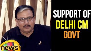 RJD Rajya Sabha MP Manoj Jha's statements in support of the Arvind Kejriwal Government  | Mango News - MANGONEWS