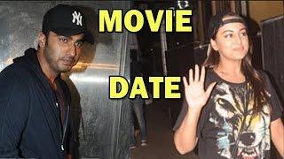 Arjun Kapoor and Sonakshi Sinha's Movie Date! - SPOTTED - ZOOMDEKHO