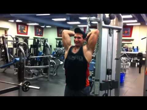 Overhead Tricep Extension To Get Ripped Triceps