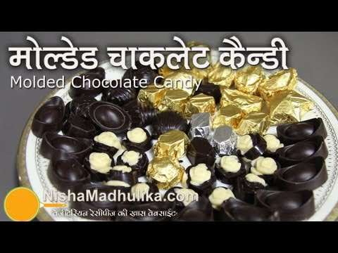 How to Make Molded Chocolate Candy - Homemade Molded Chocolate recipes