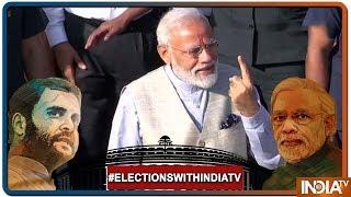 Lok Sabha Elections 2019: PM Modi To Vote In Gandhi Nagar Today - INDIATV
