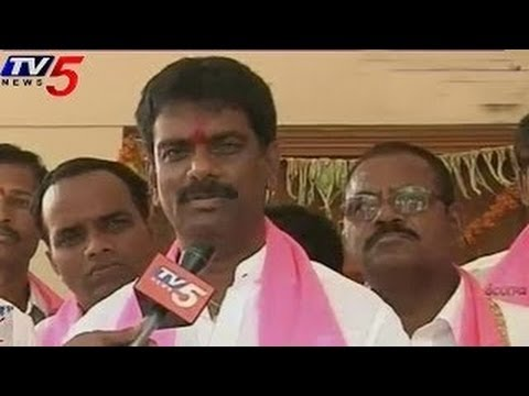 TRS Marri Janardhan Reddy Home to Home Election Campaign in Nagarkurnool