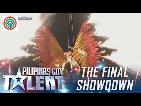 Pilipinas Got Talent Season 5 Live Finale: Amazing Pyra - Fire Dancer