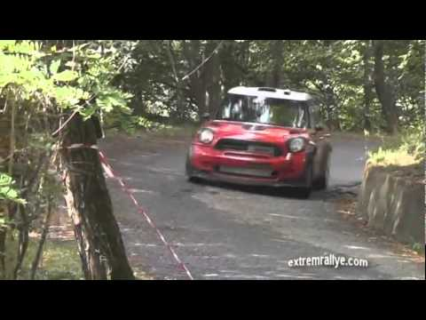 Dani Sordo tests Mini WRC ,Italy (Video extremrallye)