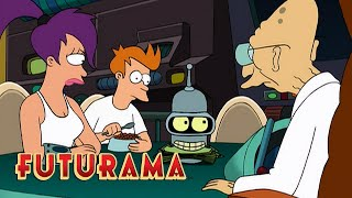 FUTURAMA | Season 2, Episode 7: Bender's Rich New Life | SYFY - SYFY