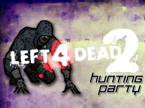 Left 4 Dead 2 Hunting Party w Mark and Nick Part 1 Frogs