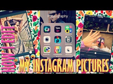 How I edit my Instagram Pictures | Cómo edito mis fotos de Instagram | Fashion Diaries