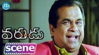 Varudu Movie Scenes - Brahmanandam Comedy || Allu Arjun, Bhanusri Mehra, Suhasini - IDREAMMOVIES