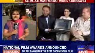Salim Khan launches Modi's Muslim website - NEWSXLIVE