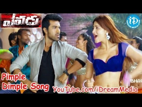 Yevadu Full Video Songs - Pimple Dimple Song - Ram Charan Teja - Shruti Haasan - Kajal