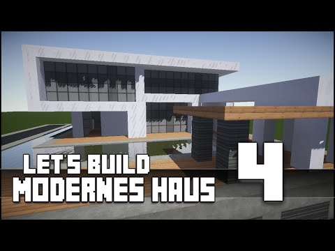 Minecraft :: Modernes Haus Bauen :: German/Deutsch #4