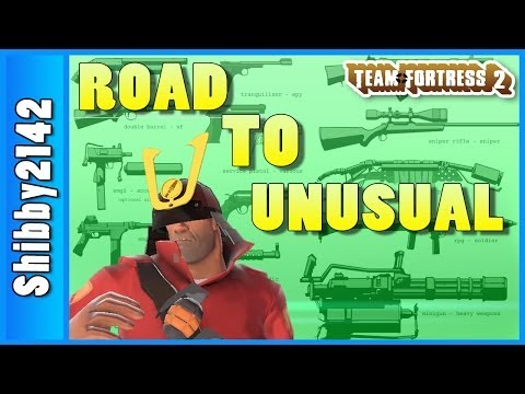 TF2: UNUSUAL KILLERS KABUTO (Game #3, Team Fortress 2)
