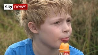 Boy with cystic fibrosis writes to drugs firm asking them to lower its prices - SKYNEWS