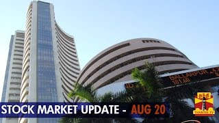 20-08-2014 Stock Market Update – 20 August, 2014