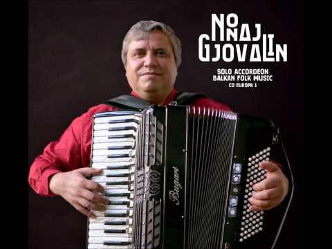 Potpuri ballkanike* - trad./Balkan - Gjovalin Nonaj, accordéon