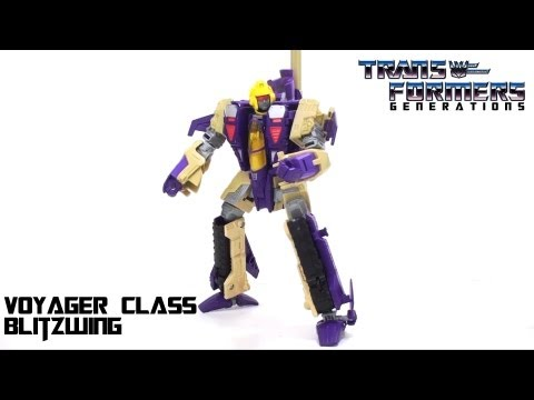 Video Review of the Transformers Generations: Blitzwing