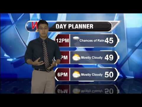 Friday March 27, 2015 Morning Forecast
