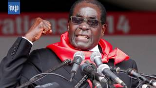 Looking back at Robert Mugabe's 37-year-long rule - WASHINGTONPOST