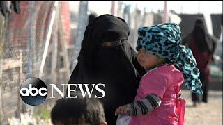 Women and children flee Syria - ABCNEWS