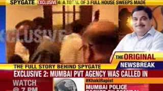 Amit Shah evades questions on Spying on team Modi. - NEWSXLIVE