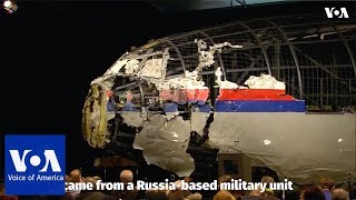 Investigators: Russian military missile downed Flight MH17 - VOAVIDEO