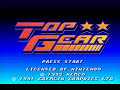 Super Nintendo - Top Gear - Track 4
