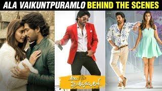 Allu Arjun Superhit Movie Ala Vaikunthapurramuloo  Behind The Scenes | Rashmika | Vijayashanthi - RAJSHRITELUGU