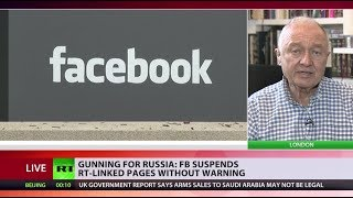 'We are in another Cold War': Former London mayor on Facebook blocking RT-linked pages - RUSSIATODAY