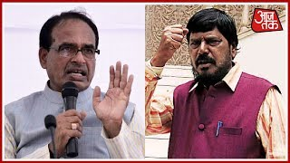 Shivraj Singh Chauhan's SC/ST Act Comment Stirs Controversy; Ramdas Athawale Criticizes MP CM - AAJTAKTV