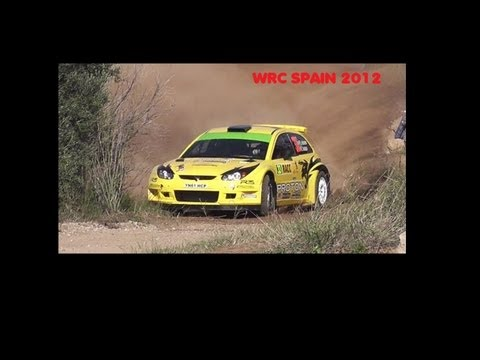 WRC Rally Spain 2012
