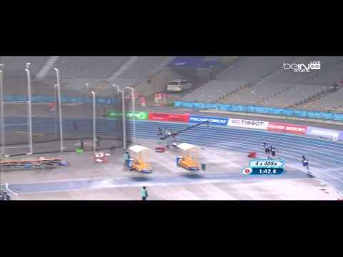 السعودية تتأهل الى نهائي مسابقة 4X400 متر تتابع