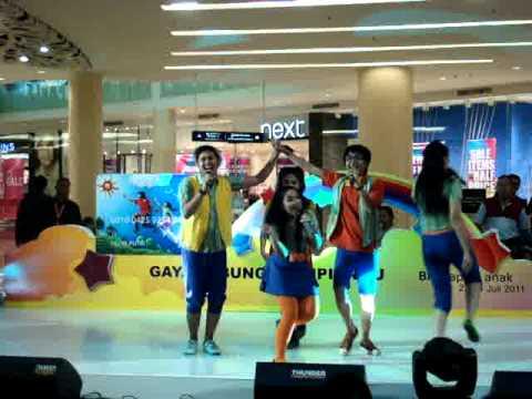 Lagu Anak - Medley: Kring-Kring Sepeda & Ular Naga by Popzzle