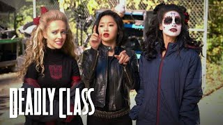 DEADLY CLASS | On Set - Students VS. Ninja | SYFY - SYFY