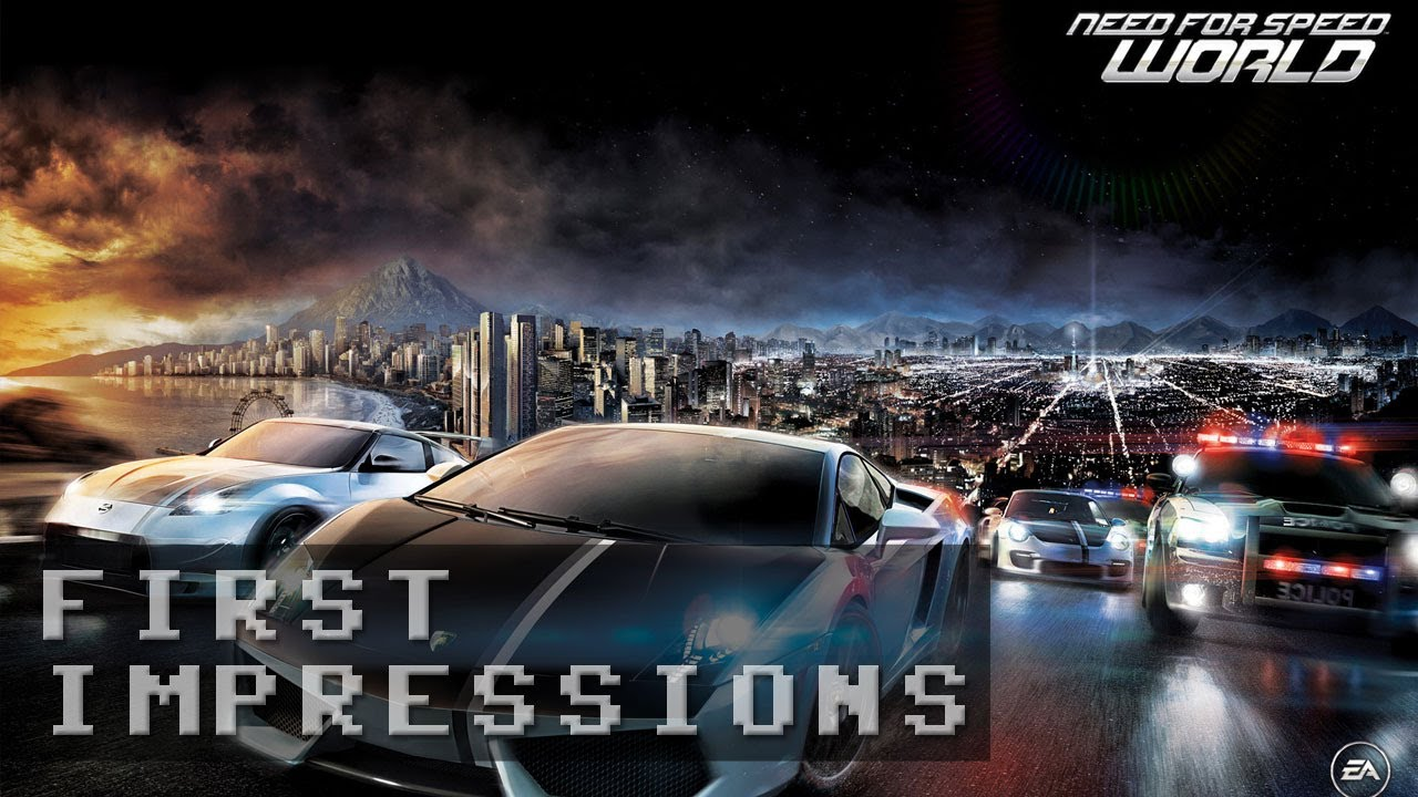 Need for Speed World Gameplay - First Impressions HD