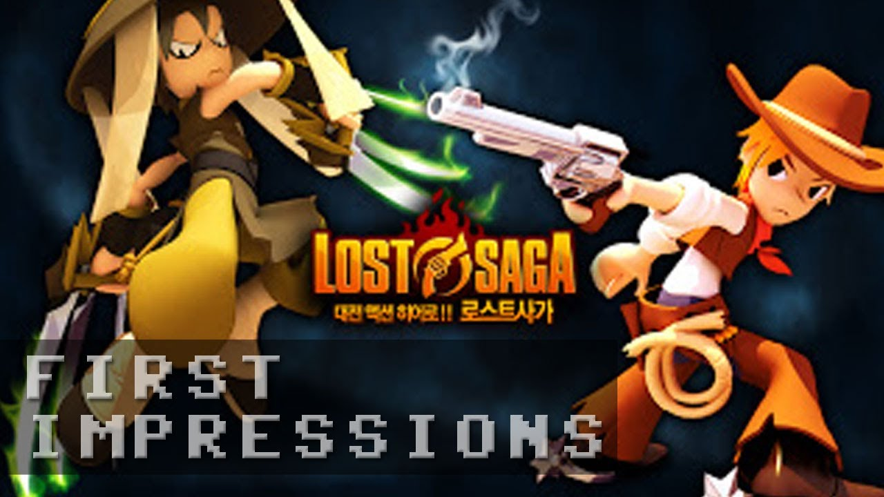 Lost Saga Gameplay - First Impressions HD