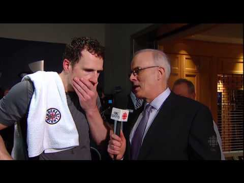 HNIC - Post Game Show with Ron MacLean & Don Cherry - Phaneuf Interview - May 12th 2013 (HD)