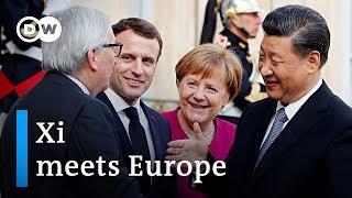 Deals and diplomacy: European leaders meet China's Xi   DW News - DEUTSCHEWELLEENGLISH