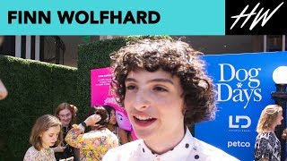 "Finn Wolfhard Of ""Dog Days"" Confirms Rockstar Status! 