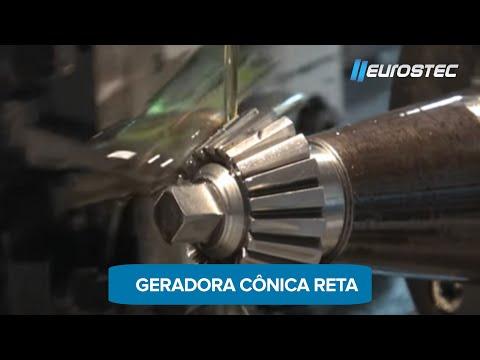Geradora de Engrenagens Cônicas Retas (corte por navalhas) - EUROSTEC
