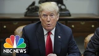 President Trump On Delayed Brett Kavanaugh Vote: 'I'd Like To See A Complete Process' | NBC News - NBCNEWS