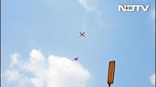 2 Jets Of Air Force Aerobatics Team Crash In Bengaluru, Pilots Eject: Report - NDTV