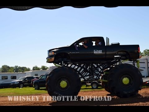 Part 1 Trucks Gone Wild 2014 at Louisiana Mudfest in Colfax, LA