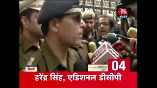 Nonstop 100   Police 'Raids' Kejriwal's House; Kejriwal Demands Same Enthusiasm In Judge Loya Probe - AAJTAKTV