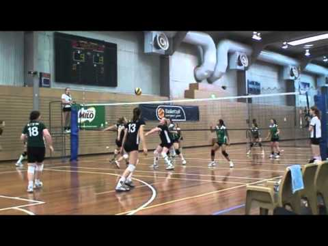 Volleyball - Good Neighbours 2012 - Women UTSBlack Division 1 - Part 1 of 3