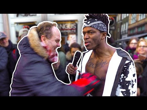 GETTING PUNCHED IN PUBLIC - صوت وصوره لايف