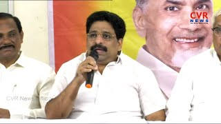 MLC Buddha Venkanna Comments On KTR, YCP Party | CVR News - CVRNEWSOFFICIAL