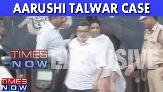 TIMES NOW EXCLUSIVE - First Visuals Of Rajesh & Nupur Talwar Walking Out Of Dasna Jail - TIMESNOWONLINE