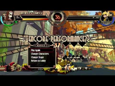 Skullgirls Encore Mar 30 - lil baby anime vs. Ego Sacre