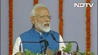 वाराणसी में बोले पीएम मोदी- मजाक उड़ाने वालों को सही समय पर सही सजा मिलनी चाहिए - NDTVINDIA