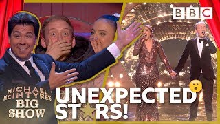 Michael's HORROR show 😱 for unsuspecting couple ends in tears of joy - BBC - BBC